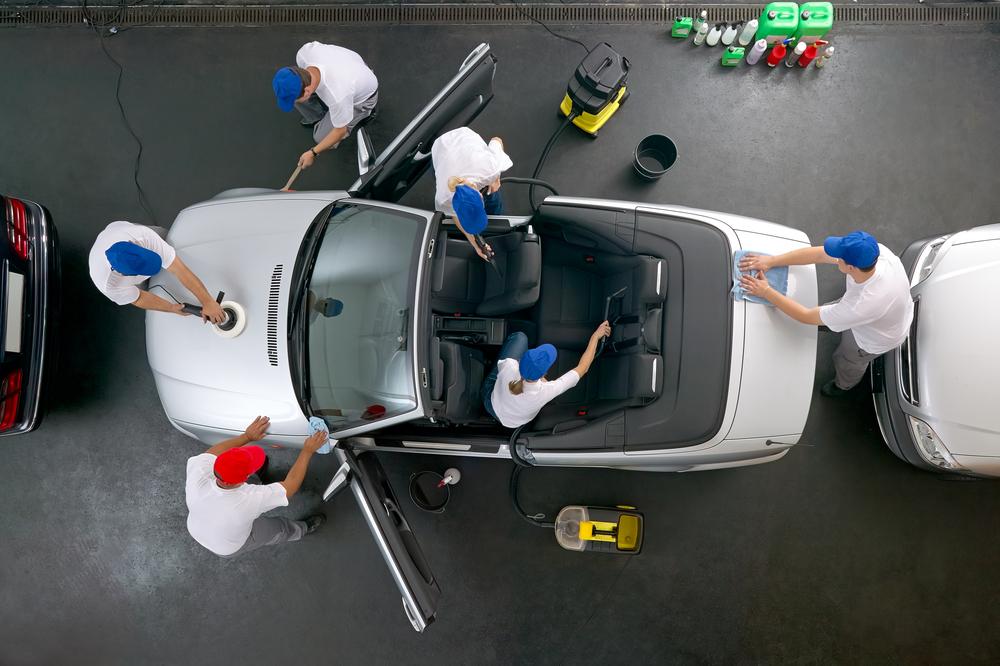 Fahrzeugaufbereitung Teltscher Kz-Werkstatt Tauche